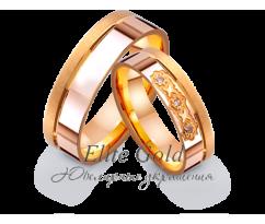 Кольца обручальные парные артикул: 4121353D