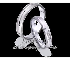 Кольца обручальные парные артикул: 4211124D