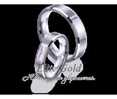 Кольца обручальные парные артикул: 4211661D