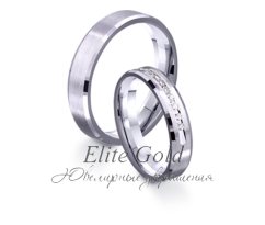 Кольца обручальные парные артикул: 4211662D