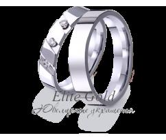 Кольца обручальные парные артикул: 4221068D