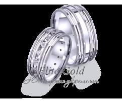 Кольца обручальные парные артикул: 4221146D
