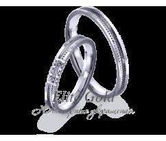 Кольца обручальные парные артикул: 4221160D