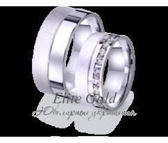 Кольца обручальные парные артикул: 4221196D