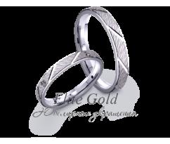 Кольца обручальные парные артикул: 4221368D