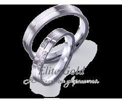 Кольца обручальные парные артикул: 4221417D