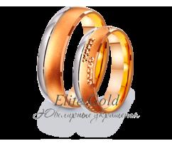 Кольца обручальные парные артикул: 4411034D