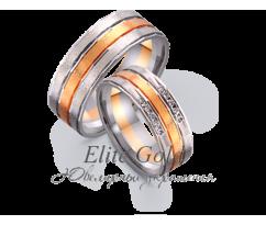 Кольца обручальные парные артикул: 4411062D