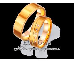 Кольца обручальные парные артикул: 4411295D