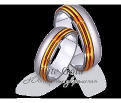 Кольца обручальные парные артикул: 4411445D