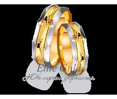 Кольца обручальные парные артикул: 4411516D