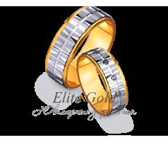 Кольца обручальные парные артикул: 4411601D