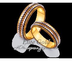Кольца обручальные парные артикул: 4411609D