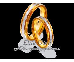 Кольца обручальные парные артикул: 4411642D