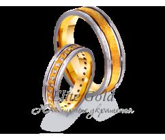 Кольца обручальные парные артикул: 4411646D