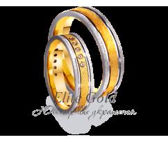 Кольца обручальные парные артикул: 4411647D