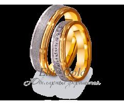 Кольца обручальные парные артикул: 4411660D