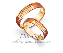 Кольца обручальные парные артикул: 411083D