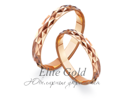 Кольца обручальные парные артикул: 411161D