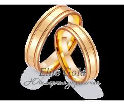 Кольца обручальные парные артикул: 411206D
