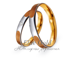 Кольца обручальные парные артикул: 412246D