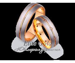 Кольца обручальные парные артикул: 412260D