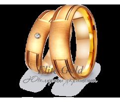 Кольца обручальные парные артикул: 412301D