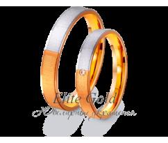 Кольца обручальные парные артикул: 412338D