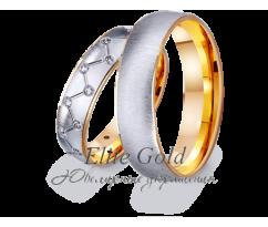 Кольца обручальные парные артикул: 412410D