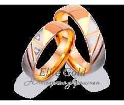 Кольца обручальные парные артикул: 412550D