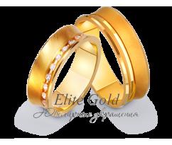 Кольца обручальные парные артикул: 412578D