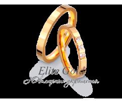 Кольца обручальные парные артикул: 412928D