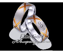 Кольца обручальные парные артикул: 421264D