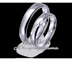 Кольца обручальные парные артикул: 421760D