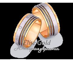 Кольца обручальные парные артикул: 441752D