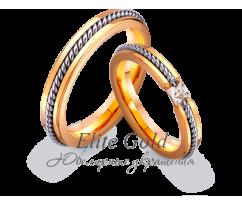 Кольца обручальные парные артикул: 441791D
