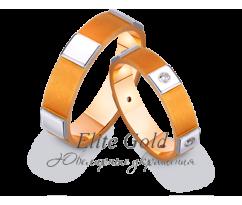 Кольца обручальные парные артикул: 441800D