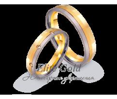 Кольца обручальные парные артикул: 442525D