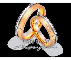 Кольца обручальные парные артикул: 442533D