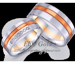 Кольца обручальные парные артикул: 442606D