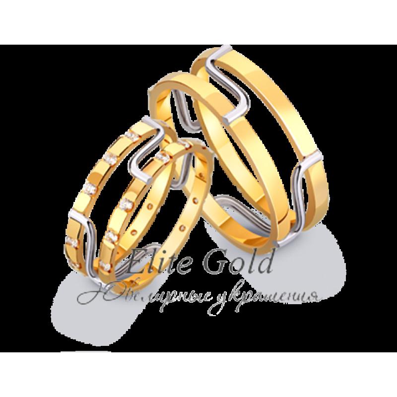 кольца сережки из золота