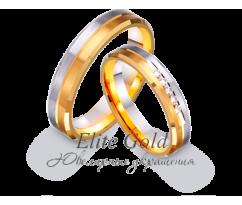 Кольца обручальные парные артикул: 452600D