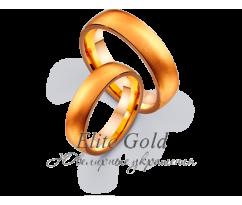 Кольца обручальные парные артикул: 4111010D