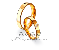 Кольца обручальные парные артикул: 4111055D