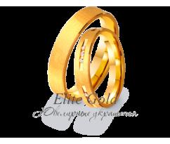 Кольца обручальные парные артикул: 4111057D