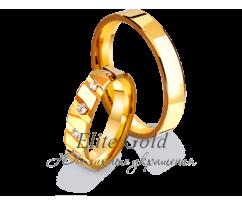 Кольца обручальные парные артикул: 4111071D