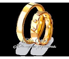 Кольца обручальные парные артикул: 4111072D