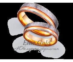 Кольца обручальные парные артикул: 4111174D