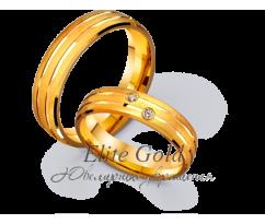 Кольца обручальные парные артикул: 4111175D