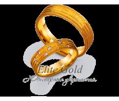 Кольца обручальные парные артикул: 4111346D